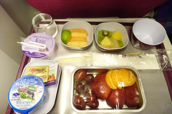 อาหาร การบินไทย
